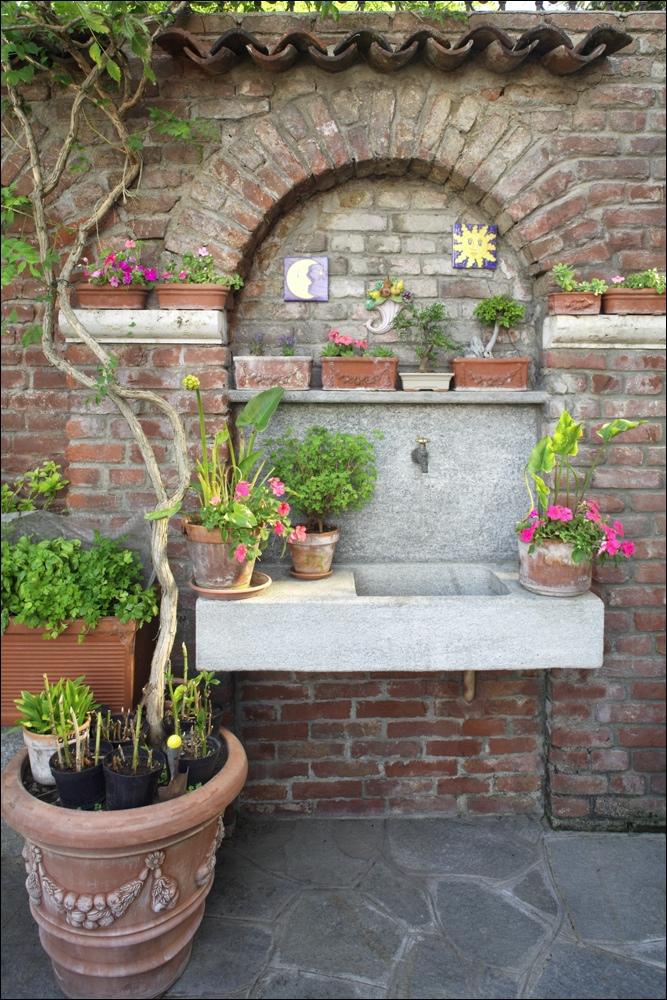 Lavatoio esterno ricavato da massello di pietra di luserna piccinini marmi - Lavatoio in pietra da esterno ...